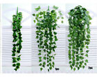Artificial Fake Hanging Vine Plant Leaves Garland Home Garden Wall Decoration