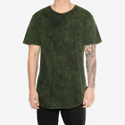 EPTM CONTEMPORARY CLOTHING LONG T SHIRT EXTENDED MINERAL WASH TEE MEN'S URBAN