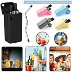 IPC Collapsible Reusable Straw Stainless Final Travel Outdoor Drinking Portable