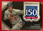 2019 Topps Manny Machado 150th Anniversary Commemorative Patch Card #AMP-MMC