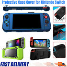 Protective Case Cover  Dockable + Kickstand for Nintendo Switch Console Joy-Con