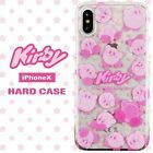 iPhone X Star Kirby Character Hard Case Hard Case Clear Clear Case Transparent