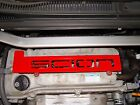 Scion tC spark plug plate cover engine 2005 - 2010 RED on eBay