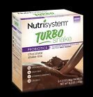 Nutrisystem TURBO Shakes CHOCOLATE Mix Belly Bloat Digestive Health Diet 2-Pack