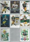 Aaron Rogers Collectors Lot of 8 Individual NFL Trading Cards Packers