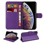Case for iPhone 6 7 8 5s Plus XR Max Cover Flip Wallet Leather Magntic Luxury