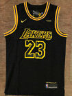 Kyпить Mens/Youth Lebron James 23 City Edition Black Swingman Jersey Los Angeles Lakers на еВаy.соm