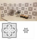 Grey Mosaic Pattern Tile Stickers Transfers For 150Mm X 150Mm / 6 X 6 Inches G20