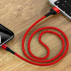 USAMS Magnetic USB Cable Magnet LED Quick Charger Wire Cord For iphone Huawei