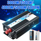 3000W / 5000W / 6000W Solar Power Inverter DC 12V to AC 220V Car Sine Converter