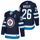 Blake Wheeler Winnipeg Jets #26 Blue Replica Jersey $56.36 USD on eBay