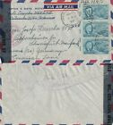 US 1947 FLOWN WW2 CENSORED COVER MILWAUKEE TO SCHWEINFURT MAINFRANK BAVARIA