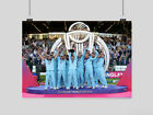 ENGLAND CRICKET POSTER WORLD CUP WINNERS SPORT  A3 A4 SIZE
