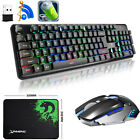 XM-620 2.4G Wireless Rechargeable LED Backlit Gaming Keyboard + Ganing Mouse Set