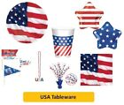 USA AMERICAN Independence Day Party AMSCAN Tableware Disposable Supplies