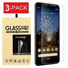 3 Pack Tempered Glass Screen Protector For Google Pixel 3a Pixel 3a XL