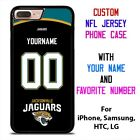 JACKSONVILLE JAGUARS JERSEY NFL Custom Phone Case for iPhone Samsung Galaxy $15.9 USD on eBay