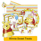 Winnie the Pooh Birthday Party Range - Tableware Balloons Supplies Decorations