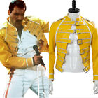 Queen Freddie Mercury Magic Tour 1986 Wembley Costume Yellow Buckle Jacket Only