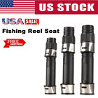 Stainless Fishing Reel Seat Spinning Wheel Rod Mount Clip Bait Casting Seat USA