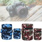 Universal DSLR Camera Lens Case Bag Protective Cover Hard Zipper Pouch Cameras