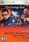 The Orange Box Xbox 360 Game Complete Half-Life 2 Team Fortress 2 Portal Tested