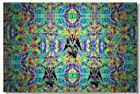 Poster Psychedelic Trippy Colorful Ttrippy Surreal Abstract Digital Art Print 44