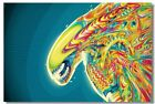 Poster Psychedelic Trippy Colorful Ttrippy Surreal Abstract Astral Art Print 56