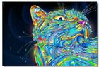 Poster Psychedelic Trippy Colorful Ttrippy Surreal Abstract Astral Art Print 80