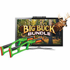 Sure Shot HD Big Buck Hunter Deluxe Bundle Video Arcade Game System w/ Gun