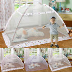 Folding Baby Infant Bed Pop-Up Mosquito Net Tent Kids Travel Bed Crib Canopy #YI