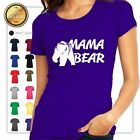 WOMAN'S MAMA Bear Print GIFT  T-Shirt