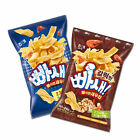 Haitai Korean Snack BBASAE Crispy Shrimp Chip 60g Original & Garlic