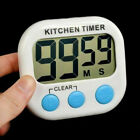 Large LCD Digital Kitchen Egg Cooking Timer Count Down Clock Alarm Stopwatch USA