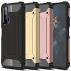 For Huawei Honor 20 / 20 Pro Rugged Armor Shockproof Back Cover Case  Film