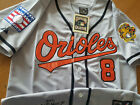 Brand New Baltimore Orioles #8 2001 Cal Ripken Jr. Dual patch stitched Jersey on Ebay
