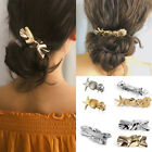 Women Starfish Conch Seashell Irregular Geometric Barrettes Hair Clip Hair Pins