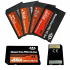 8/ 16/ 32/ 64GB Memory Stick MS Pro Duo Memory Card For Sony PSP 1000 2000 3000