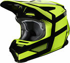 Fox Racing V2 Hayl Youth MX Offroad Helmet Fluo Yellow