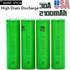 18650 3000mAh 30A Rechargeable High Drain Battery Vape1 Mods For Sony VTC6 NMC