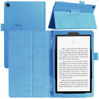 Smart Stand PU Leather Flip Case Cover For Amazon Kindle Fire 7 8 HD 10 2017