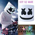 LED MarshMello-DJ Mask Music Props Bar Halloween Cosplay Full Head Mask Helmet