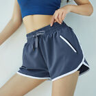 Fake Two Piece Sports Shorts Running Gym Yoga Shorts Guick-Drying Loose Fitness