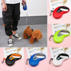 Flexible  Belt Retractable Dog Leads Cord Tape Traction Rope Dogs Leash