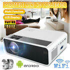 1080P WiFi Android6.0 Bluetooth LED Projector 4K Home Cinema 10000LM Multimedia