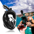 Kyпить Swimming Full Face Anti-Fog Mask Surface Diving Snorkel Scuba for GoPro Phone US на еВаy.соm