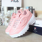 FILA Girls Disruptor II 2 Sneakers Casual Athletic Running Trainers Sports Shoes <br/> ❤ BRAND NEW ❤ Swept The world ❤ Womens Boys Girls Size❤