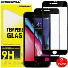 For iPhone 8 7 6S 6 Plus - FULL COVER 9D Tempered Glass Screen Protector 2-Pack for sale  Shipping to Canada