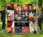 65 Years of 1954-2019 Elvis Presley – Quil Blanket 55-102'' Cotton Spandex Quilt