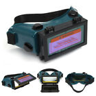 Pro Solar Welding Mask Helmet Arc Auto Darkening Eyes Goggles Welder Glasses US